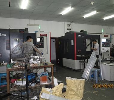 零件CNC加工车间
